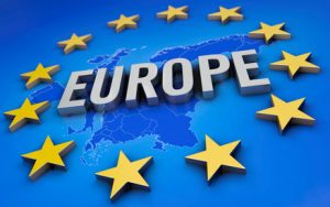 europe, eu, euro zone, countries, euro, background, euro area, symbol, sign, brussels, map, eurasia, map of europe, stars, text, word, script, european, flag, yellow, continent, community, globe, eg, border, 3d, image, blue, illustration, concept, parliament, politic, 12, abstract, graphic, borders, modern, symbolism, banner, eye catcher