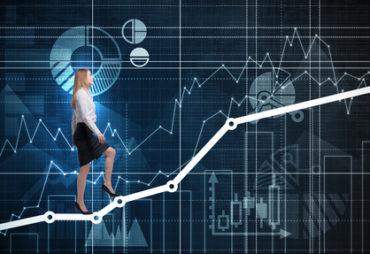 Bourse de l'immobilier en hausse